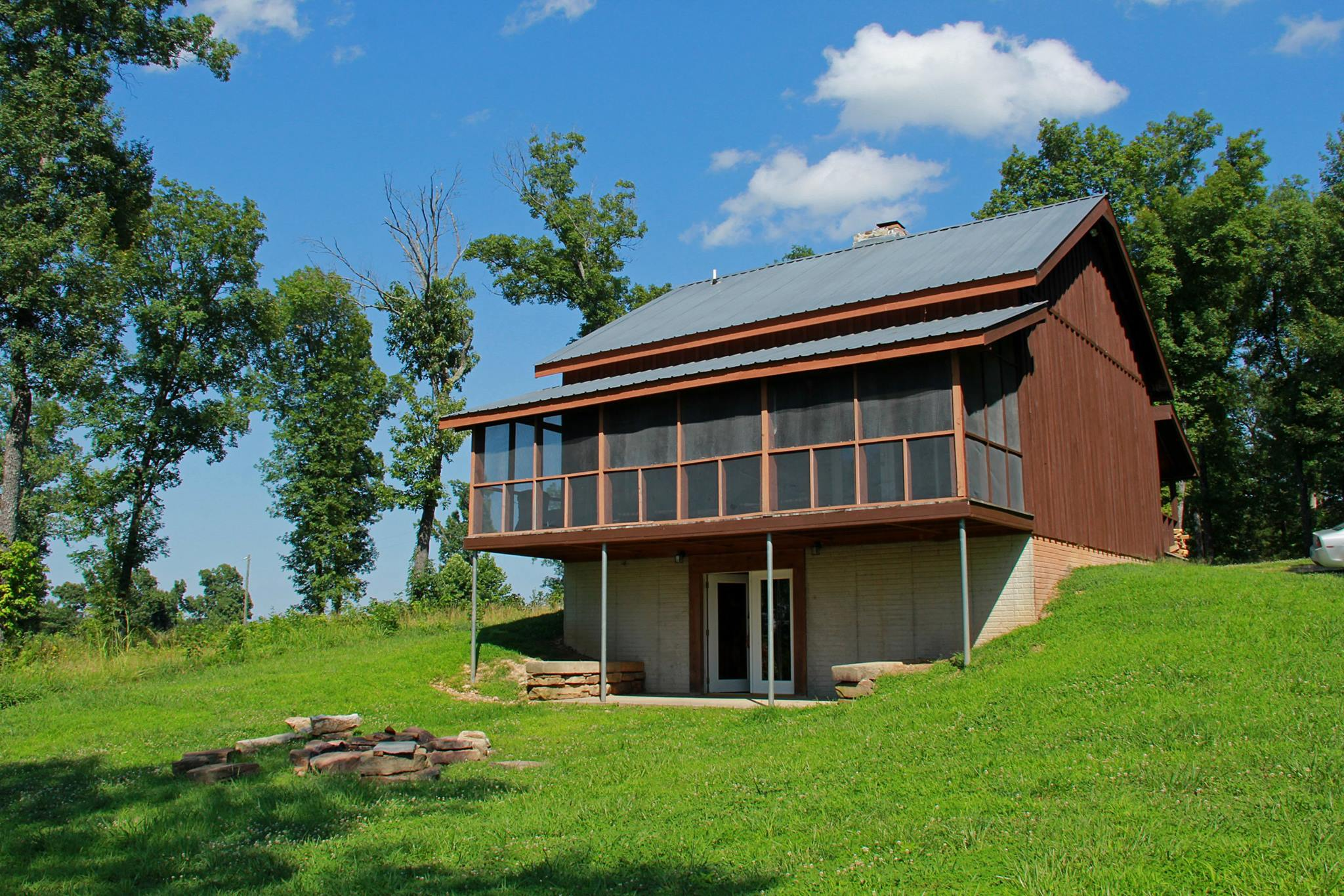 Favorite vacation cabin rental for trail rides, canoe trips, and bird watching.
