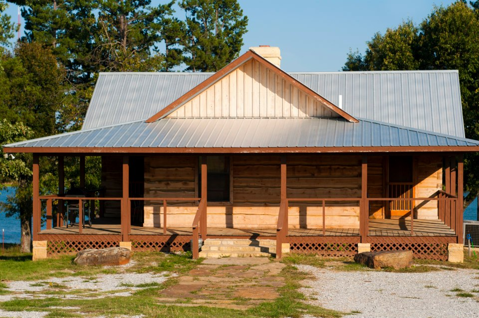 green riverbend cabins cabin arkansas rentals acres log lil