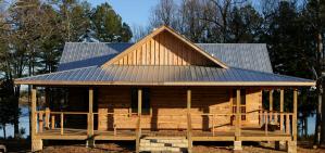 Best log cabin inn for lake lovers in arkansas and missouri