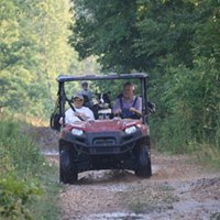 4 wheeling family vacation with the kids near Buffalo National River