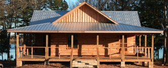 Luxury cabin for rent near Buffalo National River  Park comes with PRIVATE 22 acre lake.