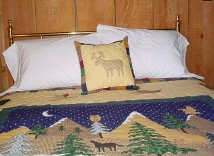 Relax in big comfortable beds after a day of hiking, swimming and 4-wheeling.